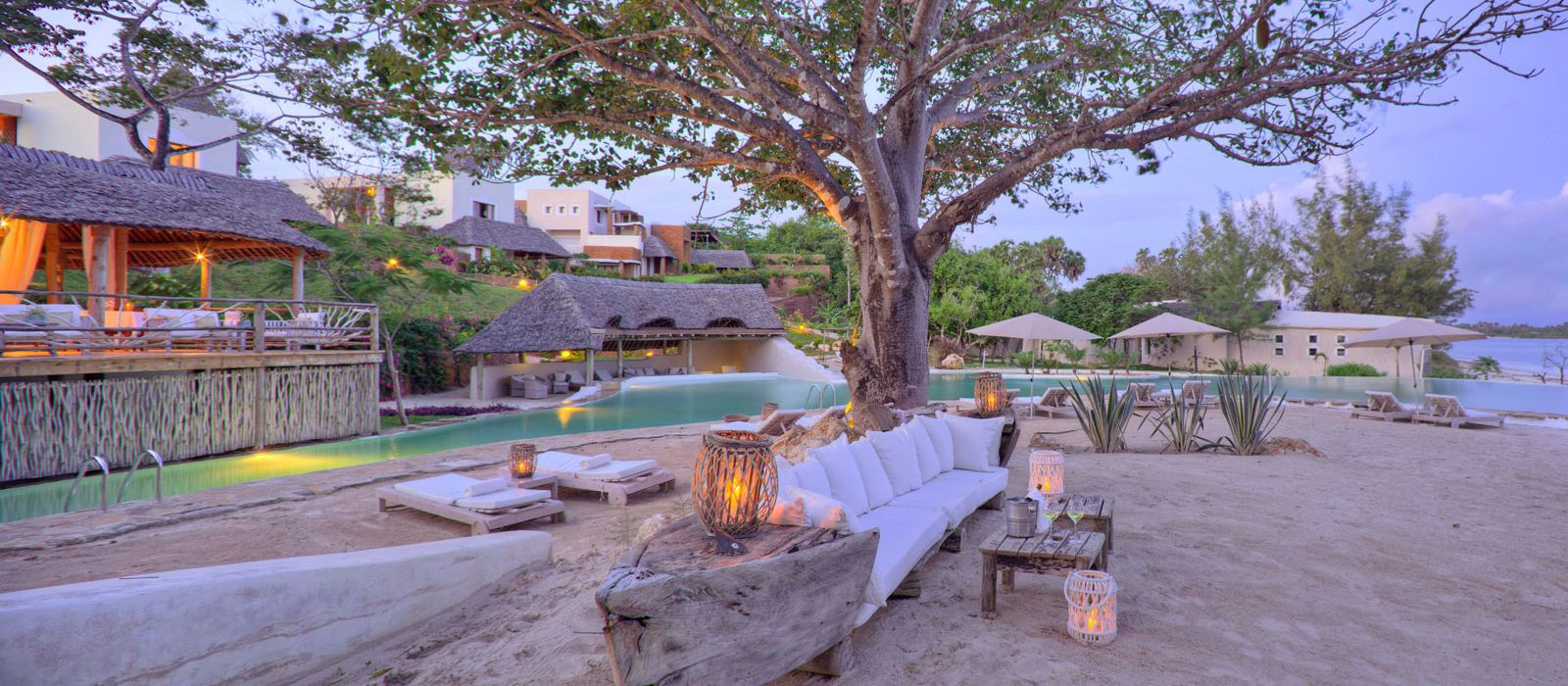 Hotel The Ocean Spa Lodge Kenia
