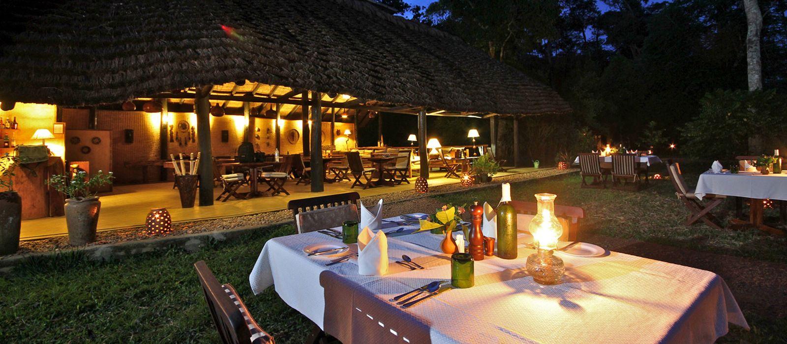 Hotel Ishasha Wilderness Camp Uganda