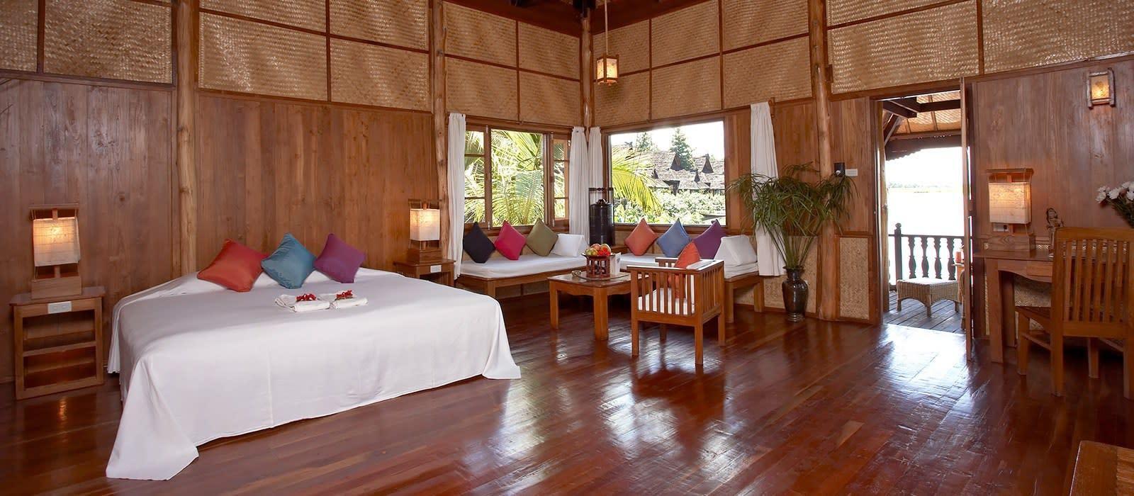 Hotel Inle Princess Resort Myanmar