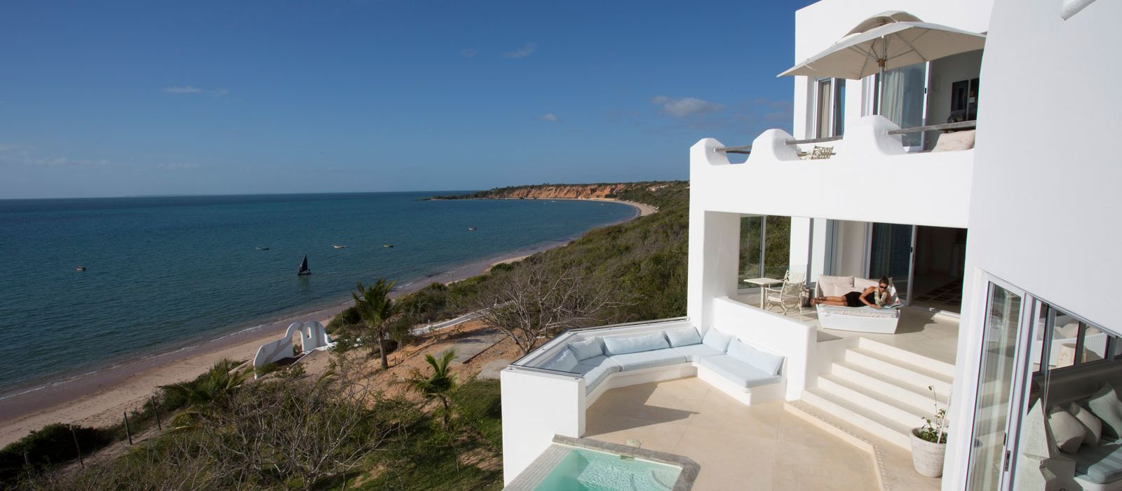 Hotel Villa Santorini Mosambik