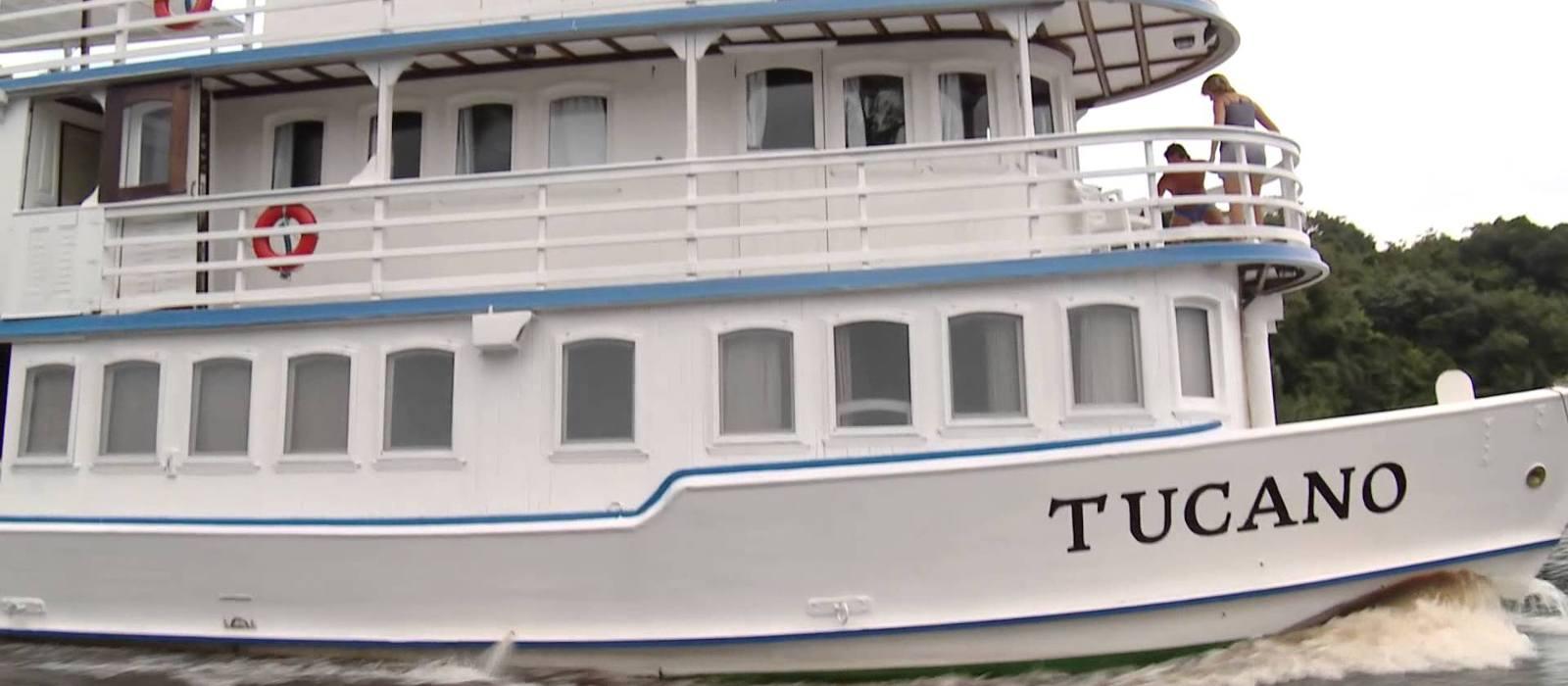 Hotel Motor Yacht Tucano Brasilien