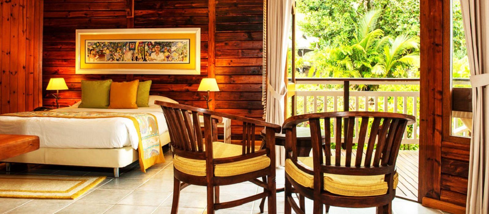 Hotel Acajou Beach Resort, Praslin Seychellen