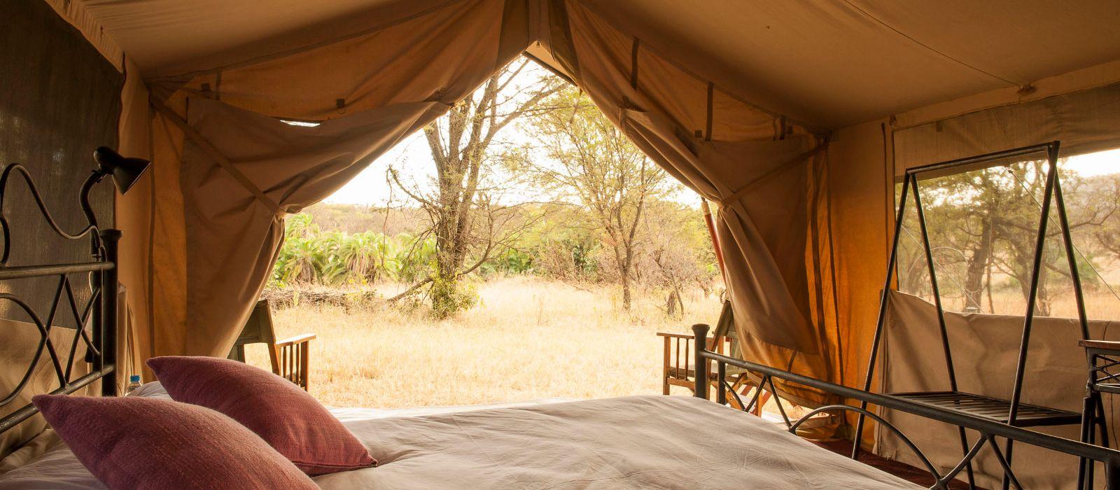 Hotel Ndutu under Canvas Tanzania