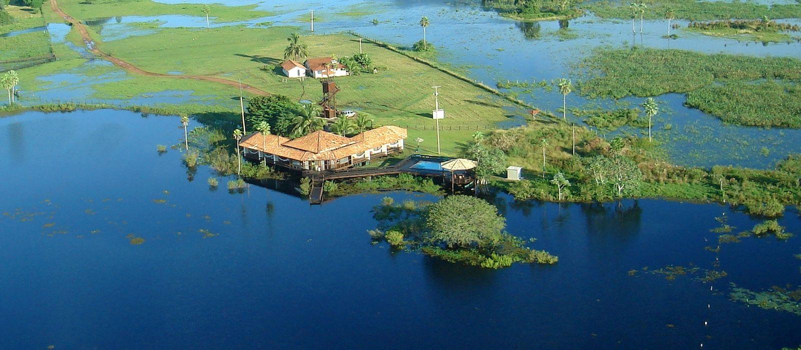 Hotel Caiman Ecological Refuge Baiazinha Lodge Brasilien