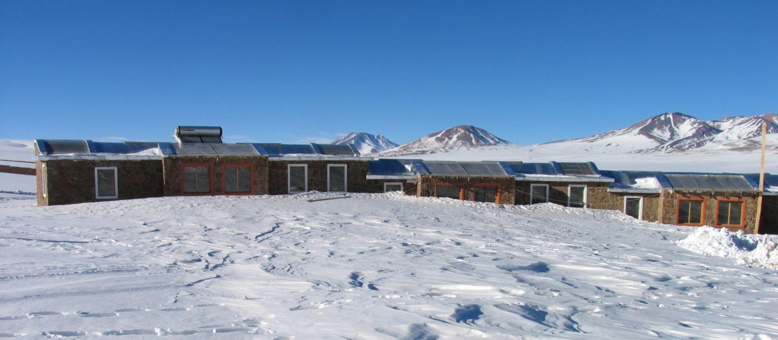 Hotel Tayka  del Desierto Bolivien