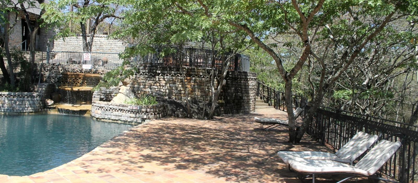 Hotel Lodge at the Ancient City Zimbabwe