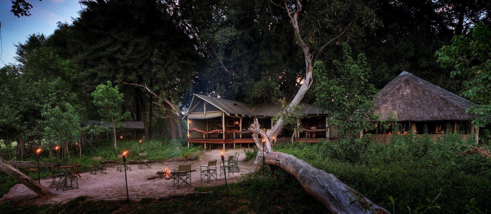 Hotel Kwara Camp Botswana