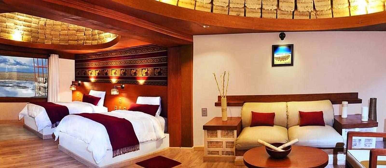 Hotel Das Palacio de Sal Bolivien