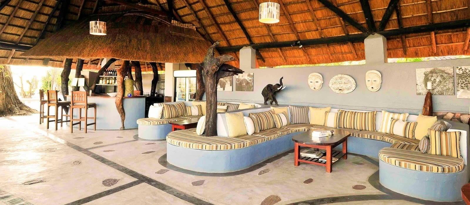 Hotel Kafunta River Lodge Sambia