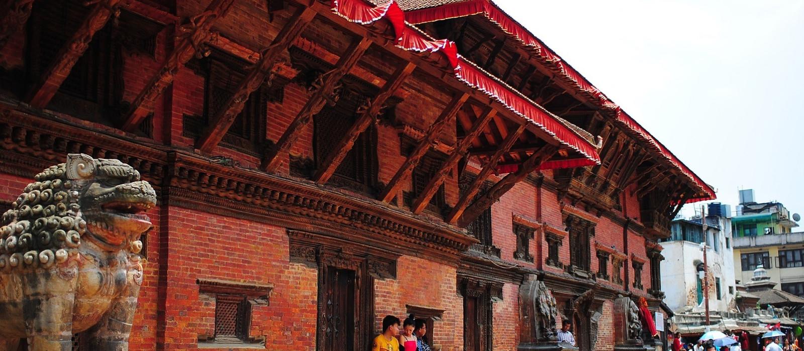 Reiseziel Patan Nepal