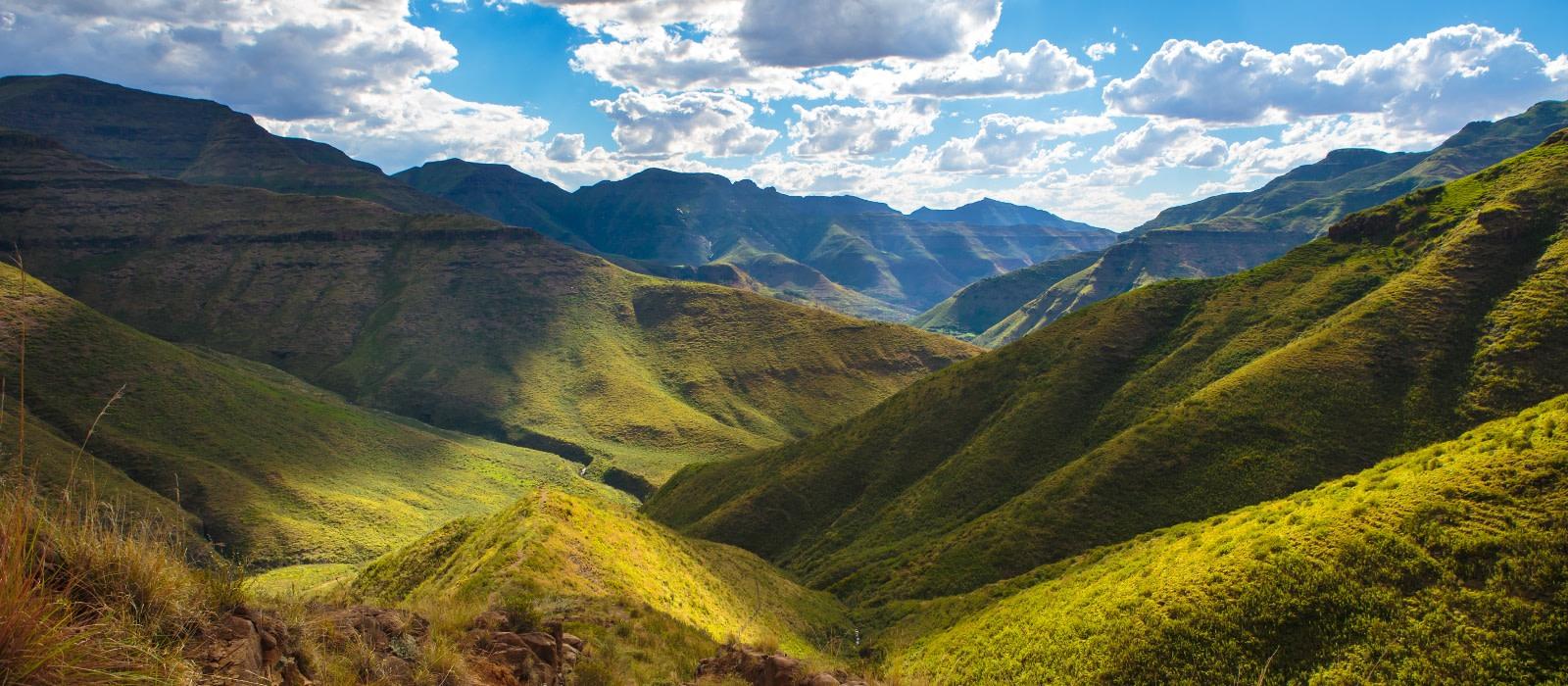 Reiseziel Nördliches Lesotho Lesotho