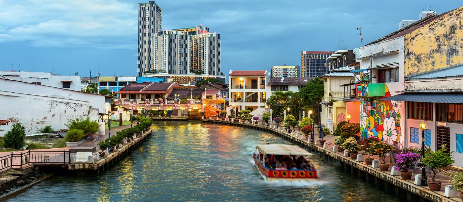 Reiseziel Malacca Malaysia