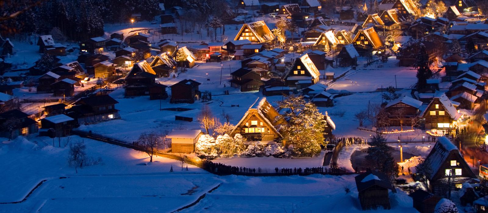 Reiseziel Shirakawago Japan