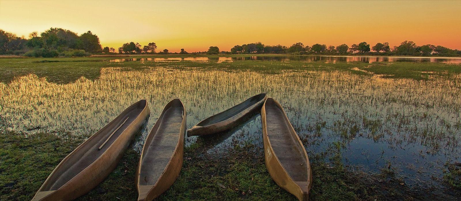 Reiseziel Okavango Delta Botswana