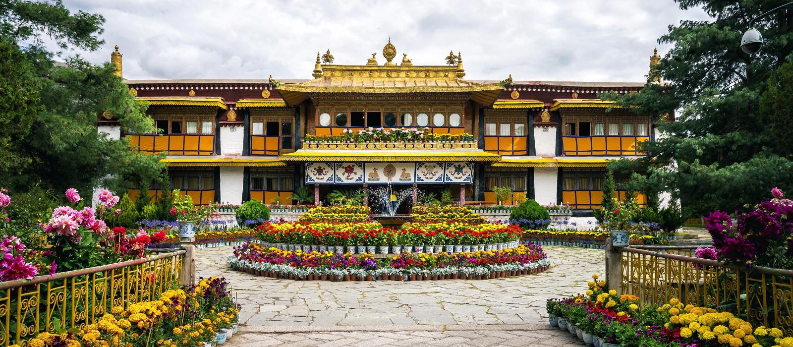 Reiseziel Lhasa Tibet