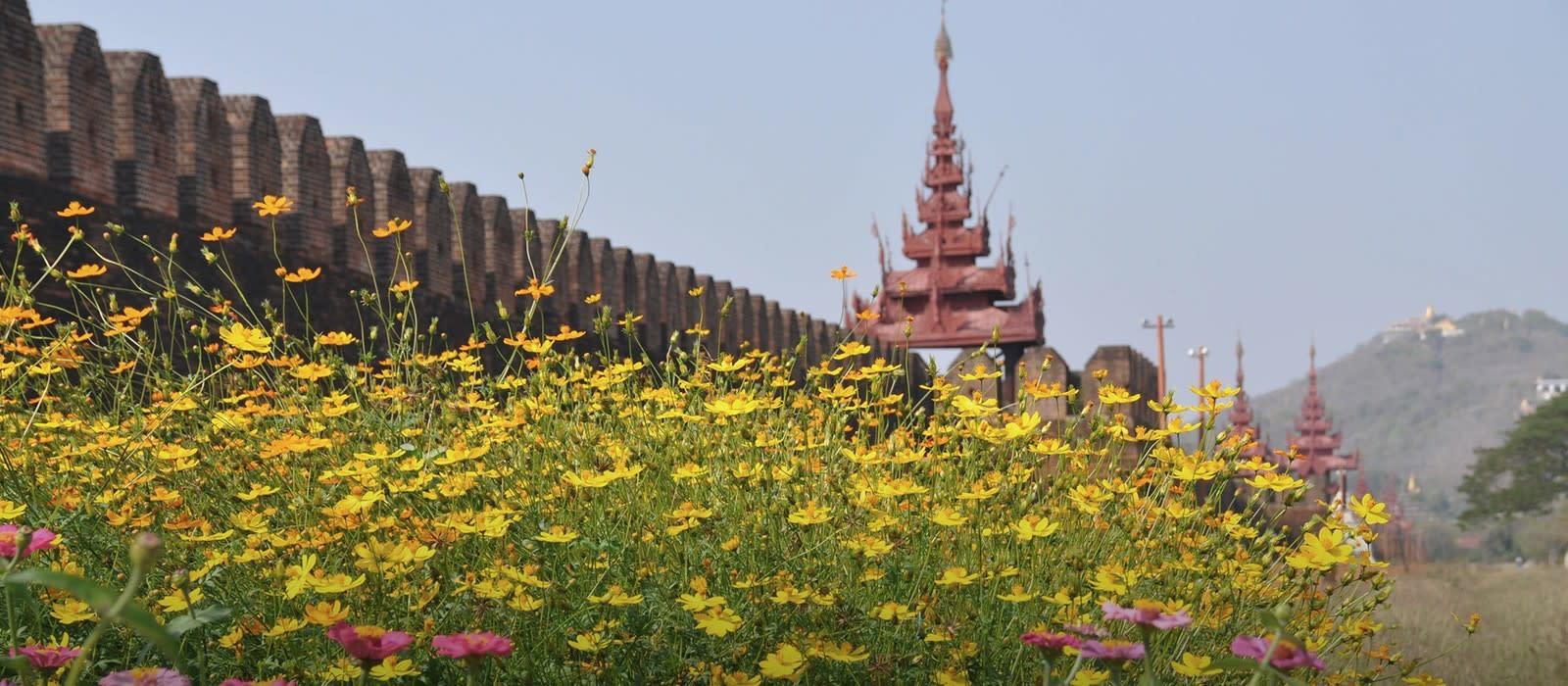 Reiseziel Mandalay Myanmar