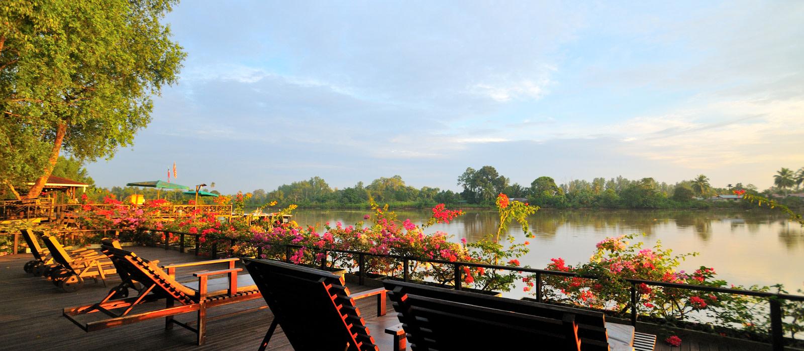 Reiseziel Abai, Kinabatangan River Malaysia