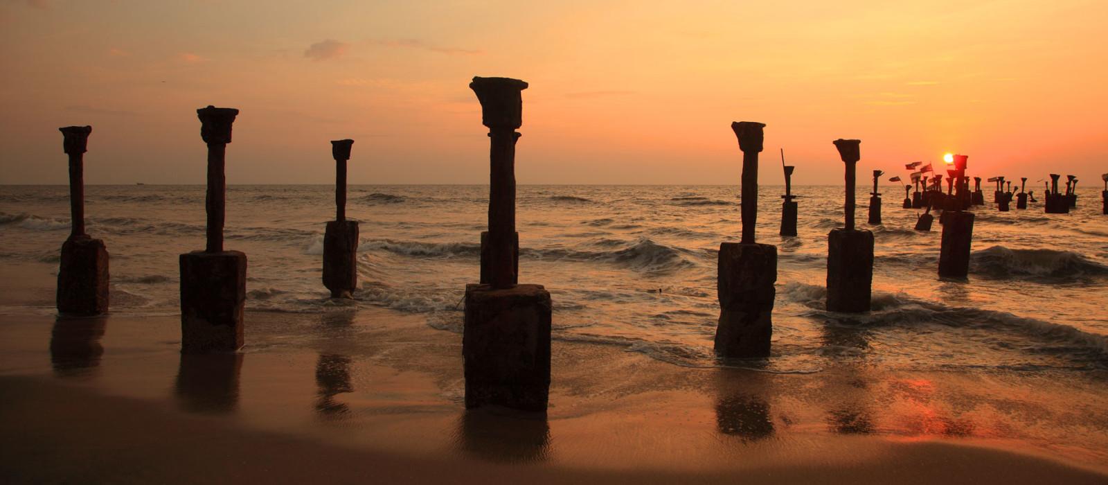 Reiseziel Kozhikode Südindien