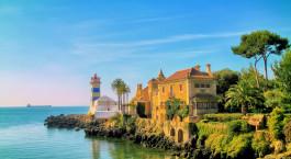 Reiseziel Küste von Lissabon Portugal
