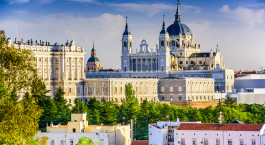 Destination Madrid Spain