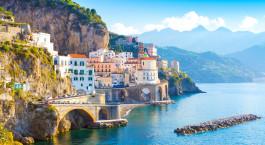 Reiseziel Amalfiküste Italien