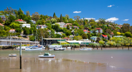 Reiseziel Launceston Australien
