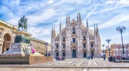 Reiseziel Mailand Italien