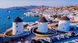 Reiseziel Mykonos Griechenland