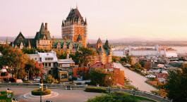 Destination Québec City Canada