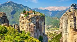 Reiseziel Meteora Griechenland