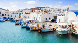 Destination Paros Greece