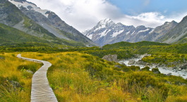 Destination Mount Cook New Zealand