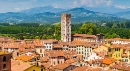 Destination Lucca Italy