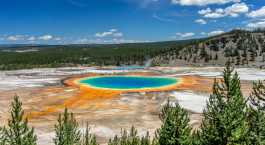 Destination Yellowstone National Park USA