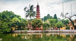 Reiseziel Hanoi Vietnam