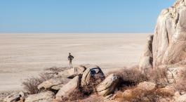 Reiseziel Kalahari Salzpfannen /Makgadikgadi Pans National Park Botswana