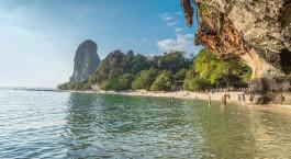 Reiseziel Railay Strand Thailand