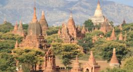 Reiseziel Nyaung-U Myanmar
