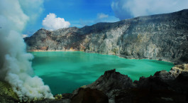 Reiseziel Java, Ijen Indonesien
