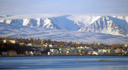 Destination Akureyri Iceland