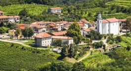 Reiseziel Weinregion Goriska Brda Kroatien & Slowenien