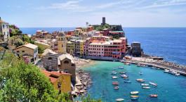 Reiseziel Cinque Terre Italien