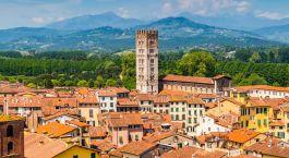 Reiseziel Lucca Italien