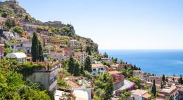 Reiseziel Taormina Italien