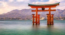 Reiseziel Miyajima Island Japan