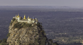 Reiseziel Mount Popa Myanmar