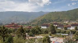Reiseziel Thimphu Bhutan