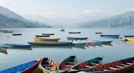 Reiseziel Pokhara Nepal
