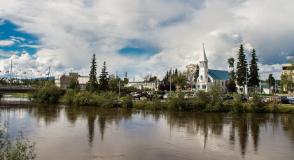 Destination Fairbanks in Alaska