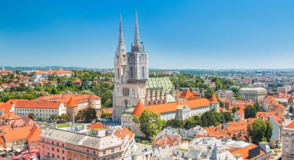 Zagreb in Kroatien & Slowenien